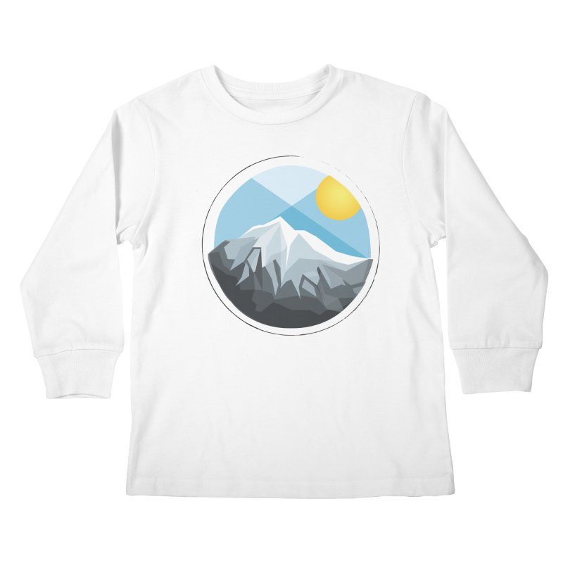 Summer Summit Kids Longsleeve T-Shirt by dnvr's Shop