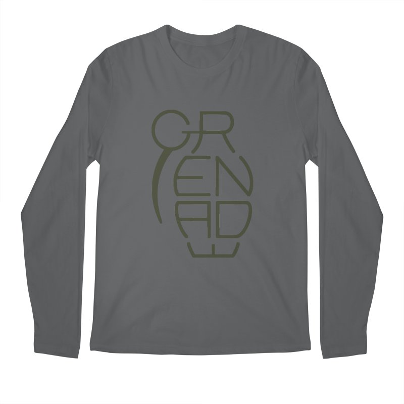 Grenade Men's Longsleeve T-Shirt by dnvr's Shop