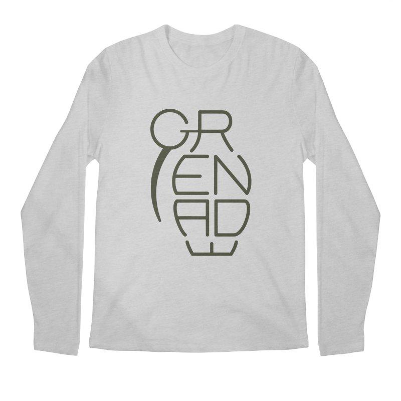 Grenade Men's Longsleeve T-Shirt by dnvr's Shop