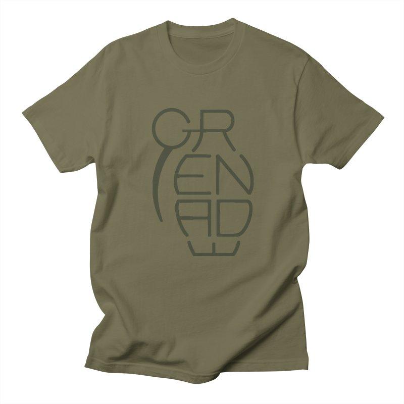 Grenade Men's T-shirt by dnvr's Shop