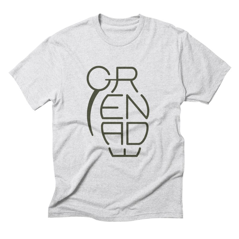 Grenade Men's Triblend T-Shirt by dnvr's Shop
