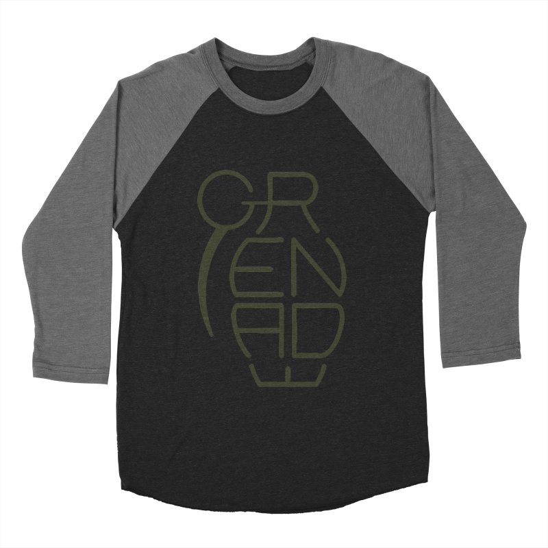 Grenade Women's Baseball Triblend T-Shirt by dnvr's Shop