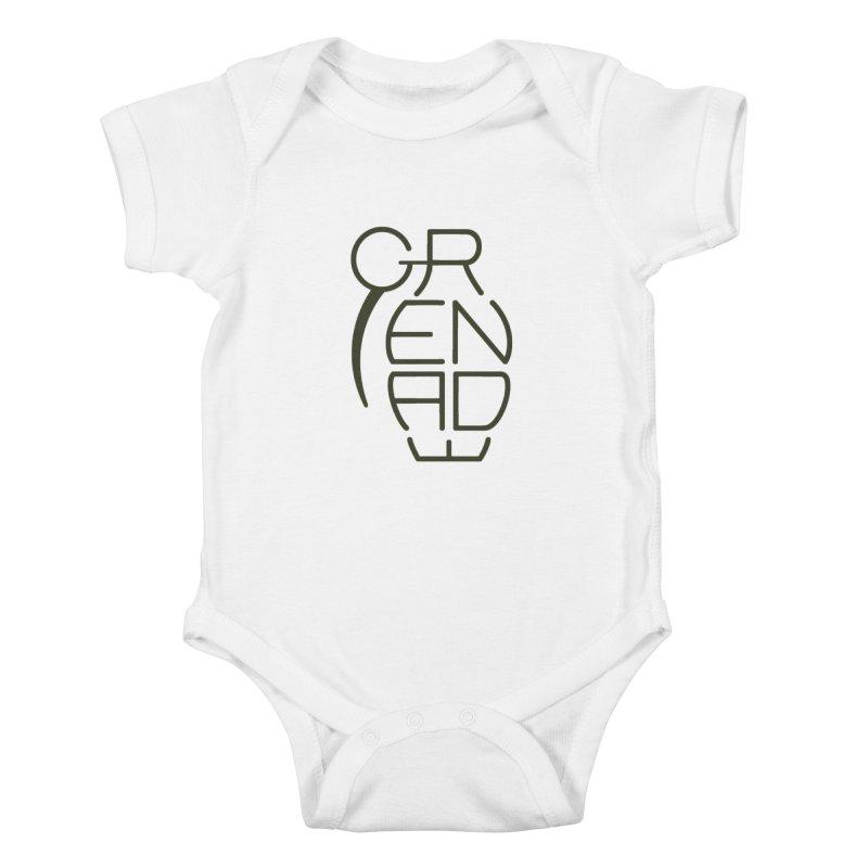 Grenade Kids Baby Bodysuit by dnvr's Shop