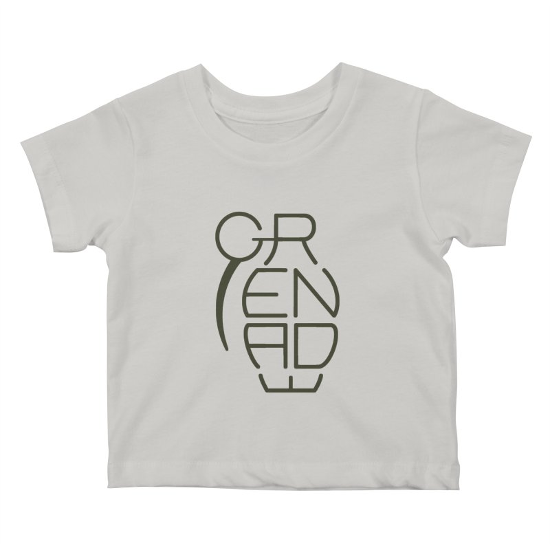 Grenade Kids Baby T-Shirt by dnvr's Shop