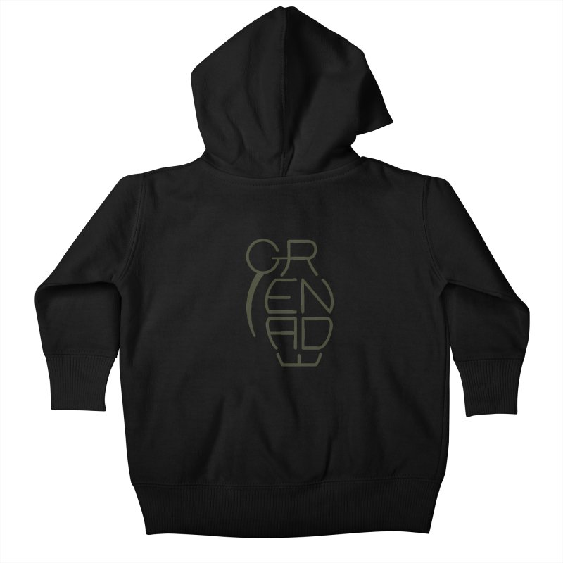 Grenade Kids Baby Zip-Up Hoody by dnvr's Shop