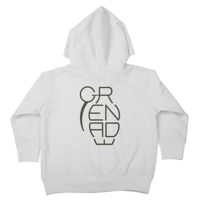 Grenade Kids Toddler Zip-Up Hoody by dnvr's Shop