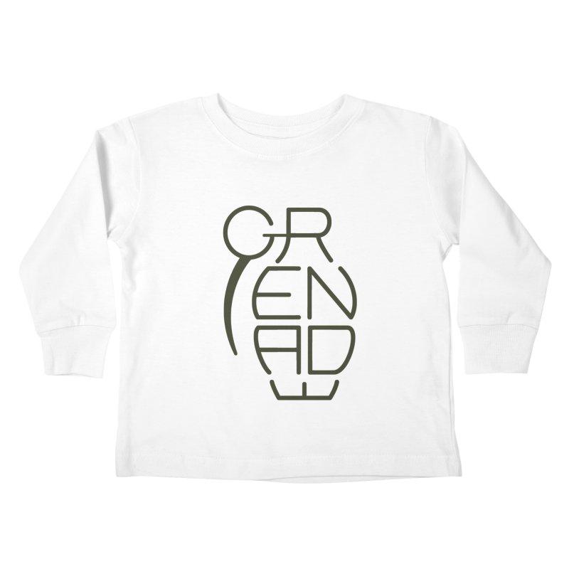 Grenade Kids Toddler Longsleeve T-Shirt by dnvr's Shop