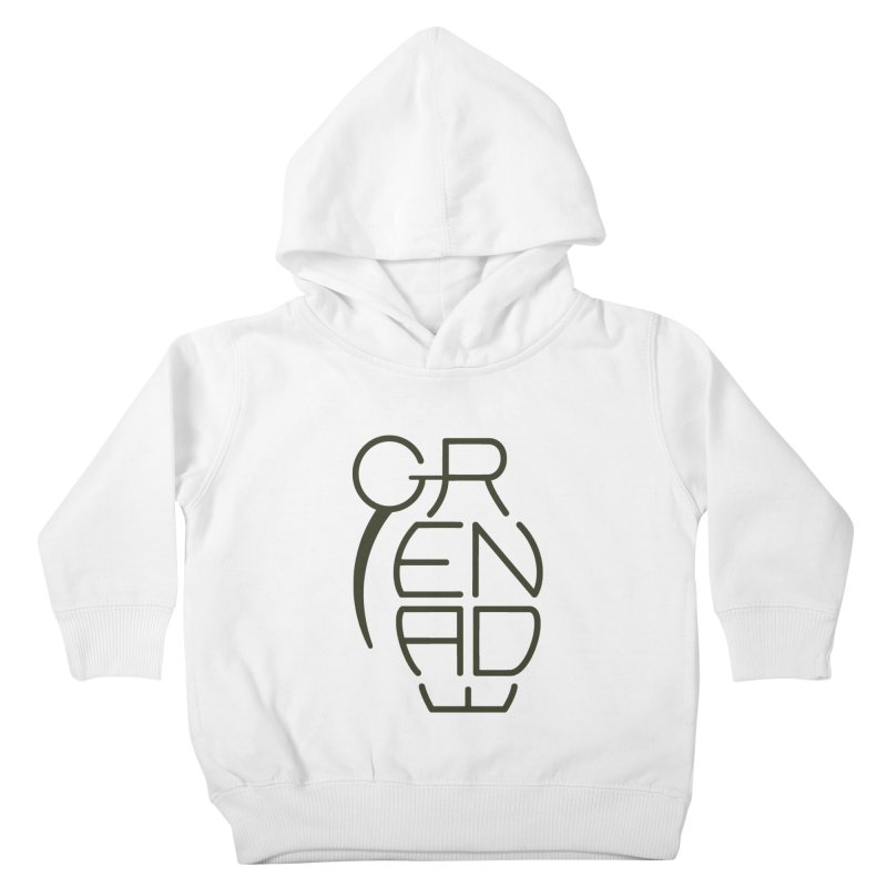 Grenade Kids Toddler Pullover Hoody by dnvr's Shop