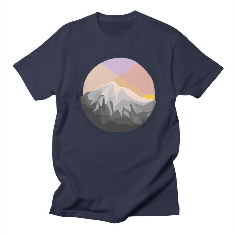 Summer Sunset Men's T-shirt by dnvr's Shop
