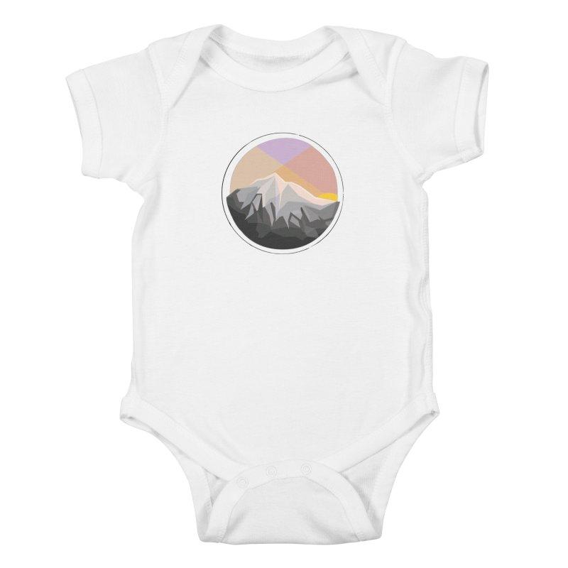 Summer Sunset Kids Baby Bodysuit by dnvr's Shop