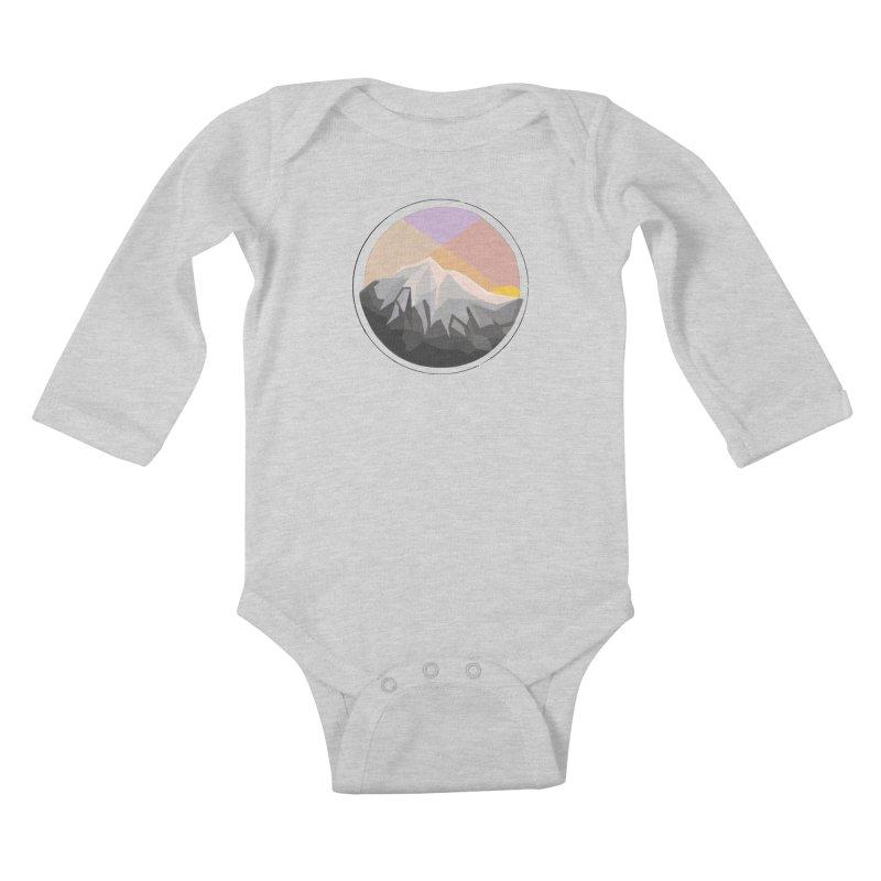 Summer Sunset Kids Baby Longsleeve Bodysuit by dnvr's Shop