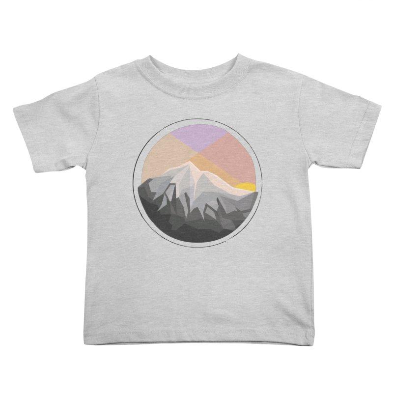 Summer Sunset Kids Toddler T-Shirt by dnvr's Shop