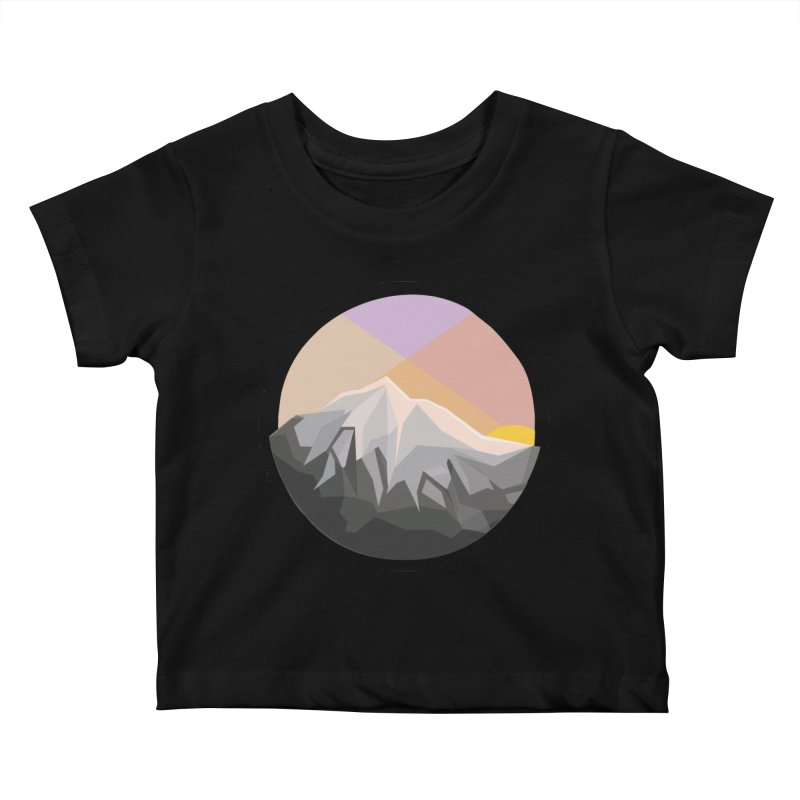Summer Sunset Kids Baby T-Shirt by dnvr's Shop