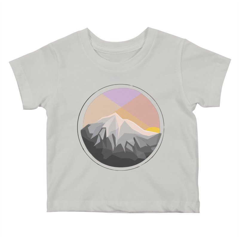 Summer Sunset Kids Baby T-Shirt by dnvr's Shop