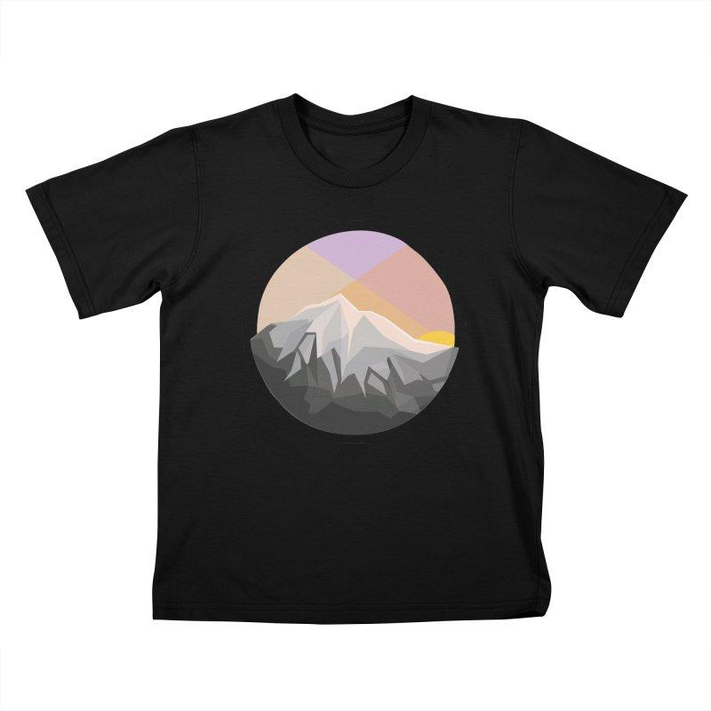 Summer Sunset Kids T-shirt by dnvr's Shop