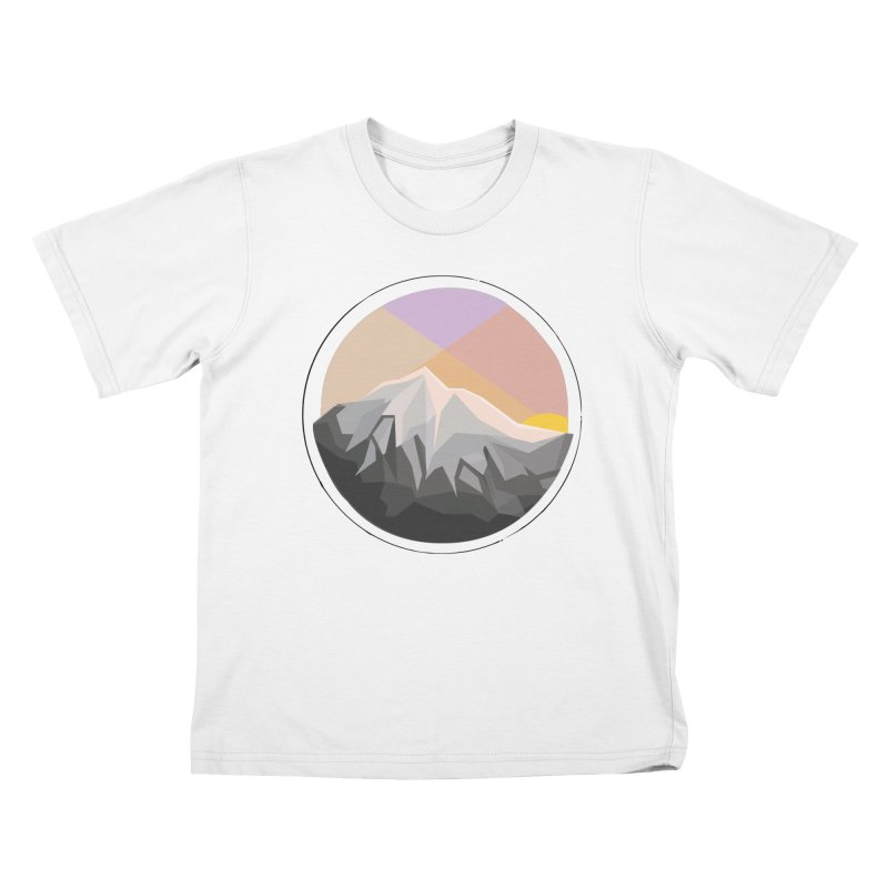 Summer Sunset Kids T-shirt by dnvr's Shop