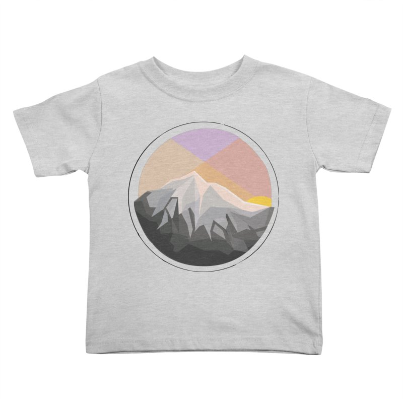 Summer Sunset Kids Toddler T-Shirt by dnvr's Shop