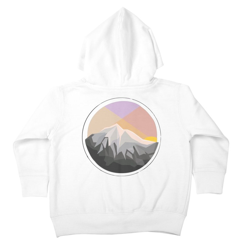 Summer Sunset Kids Toddler Zip-Up Hoody by dnvr's Shop
