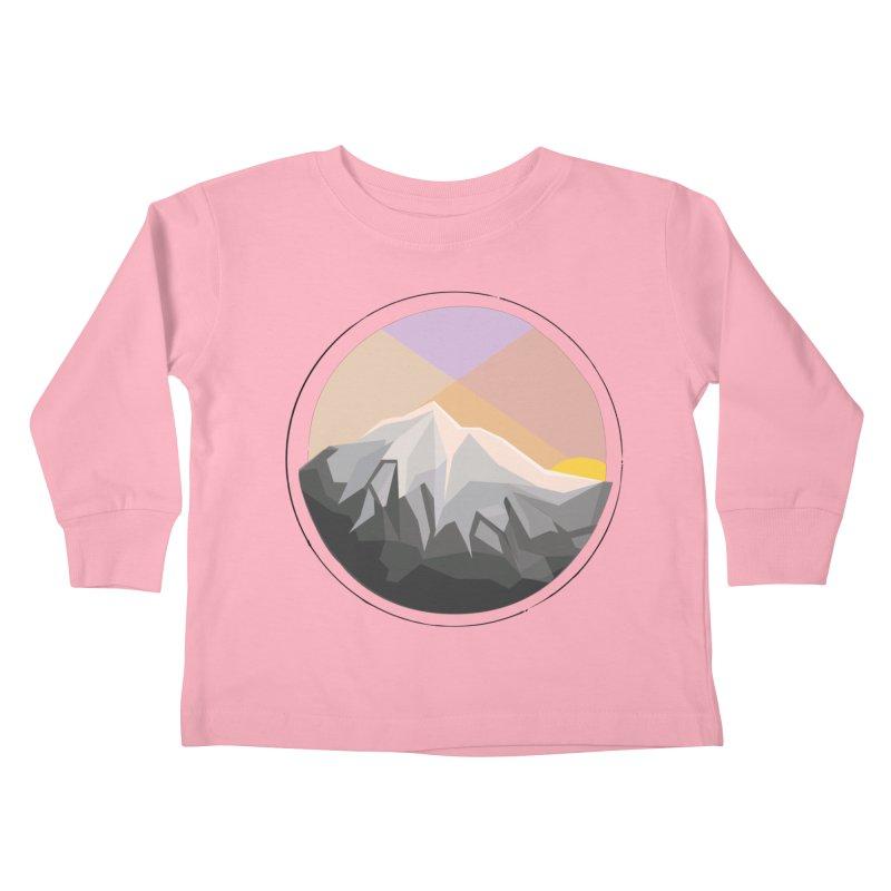 Summer Sunset Kids Toddler Longsleeve T-Shirt by dnvr's Shop