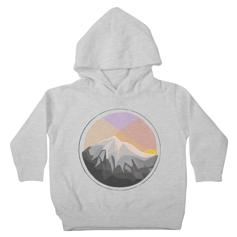 Summer Sunset Kids Toddler Pullover Hoody by dnvr's Shop