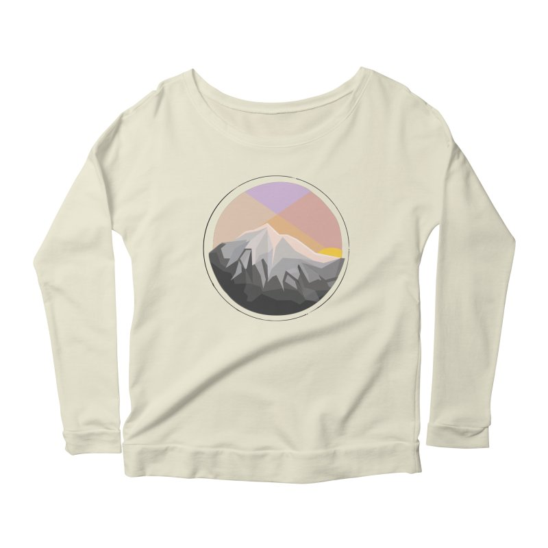 Summer Sunset Women's Longsleeve Scoopneck  by dnvr's Shop