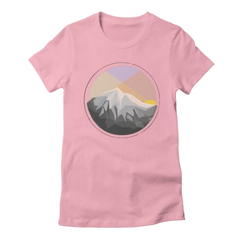 Summer Sunset Women's Fitted T-Shirt by dnvr's Shop