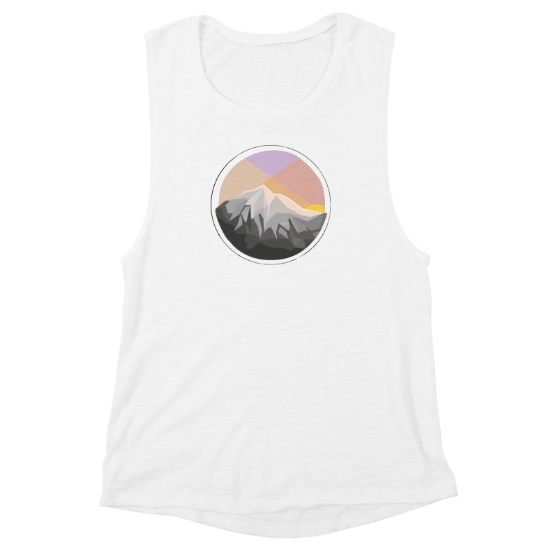 Summer Sunset Women's Muscle Tank by dnvr's Shop