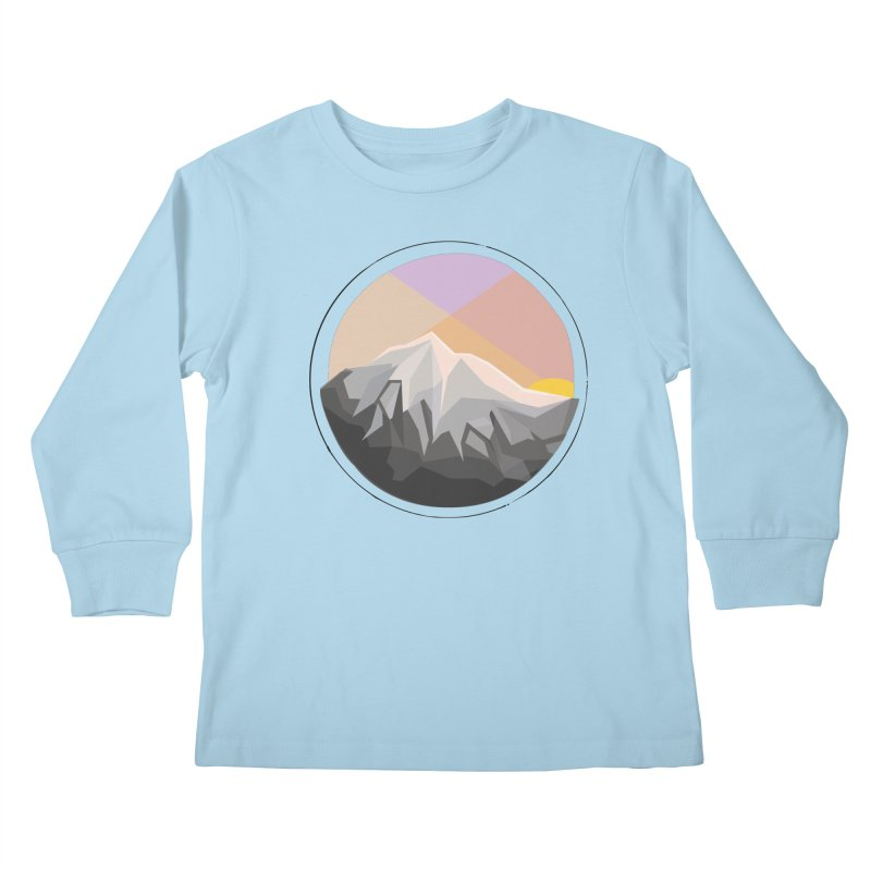 Summer Sunset Kids Longsleeve T-Shirt by dnvr's Shop