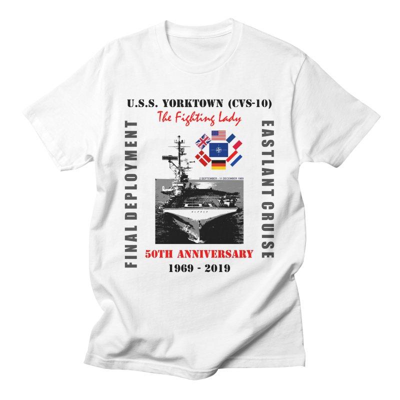 Yorktown Final Deployment 50th Anniversary Men's T-Shirt by docbutler's Artist Shop