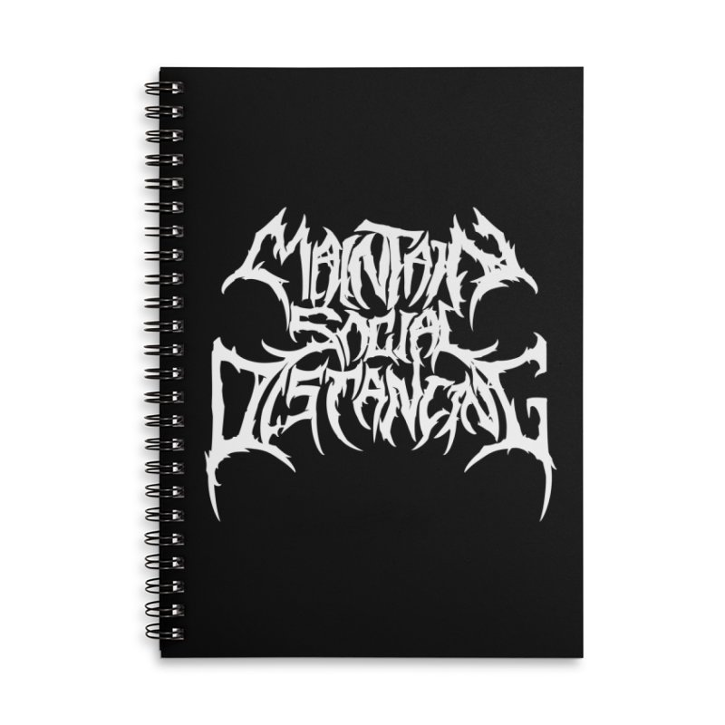 Maintain Social Distancing Accessories Notebook by Doctor Popular's Shop