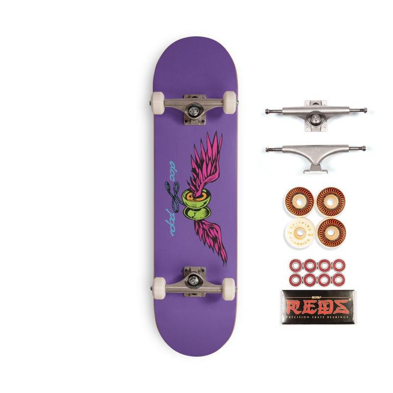 Doc Pop Logo Accessories Skateboard by Doctor Popular's Shop