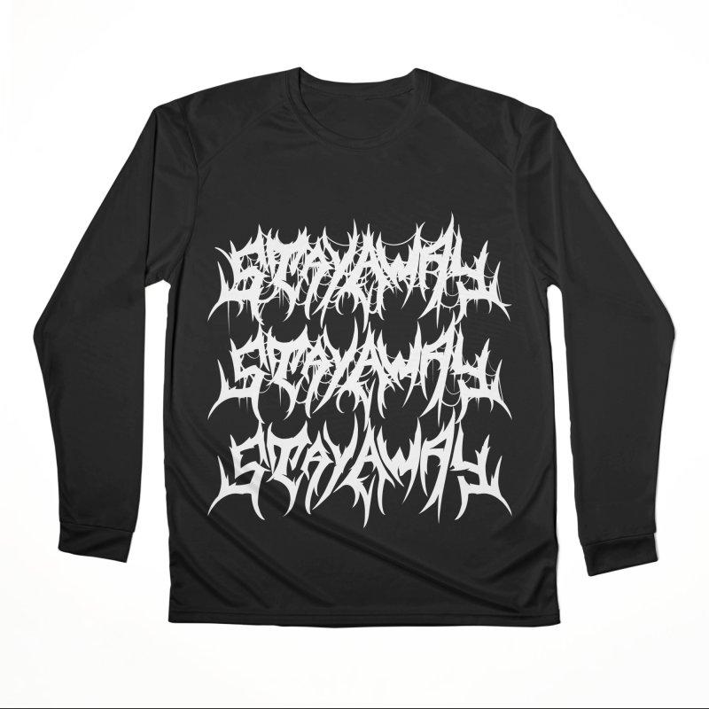Stay Away Women's Longsleeve T-Shirt by Doctor Popular's Shop