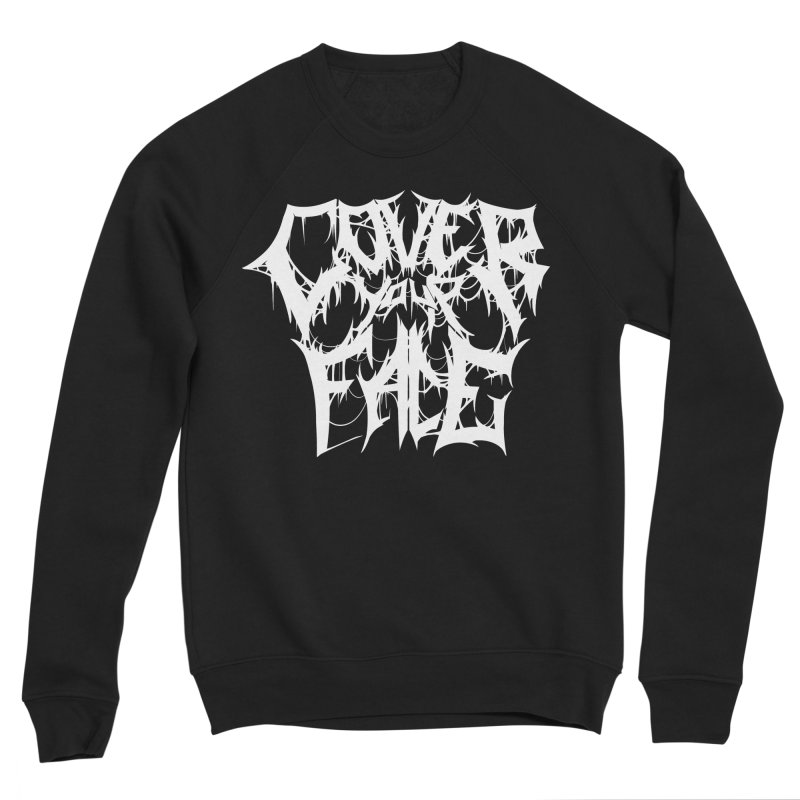 Cover Your Face Men's Sweatshirt by Doctor Popular's Shop