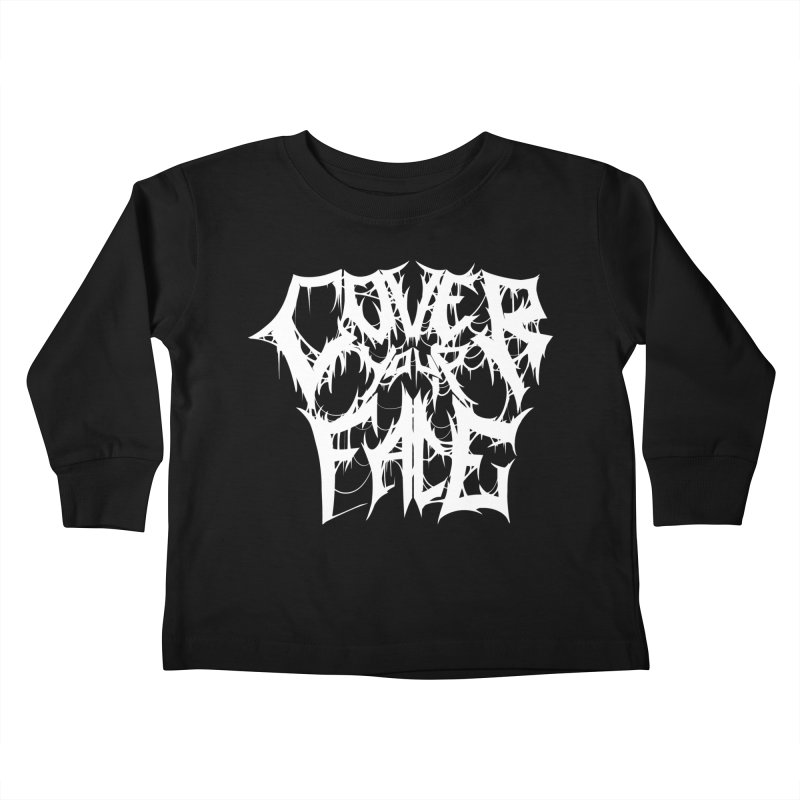 Cover Your Face Kids Toddler Longsleeve T-Shirt by Doctor Popular's Shop