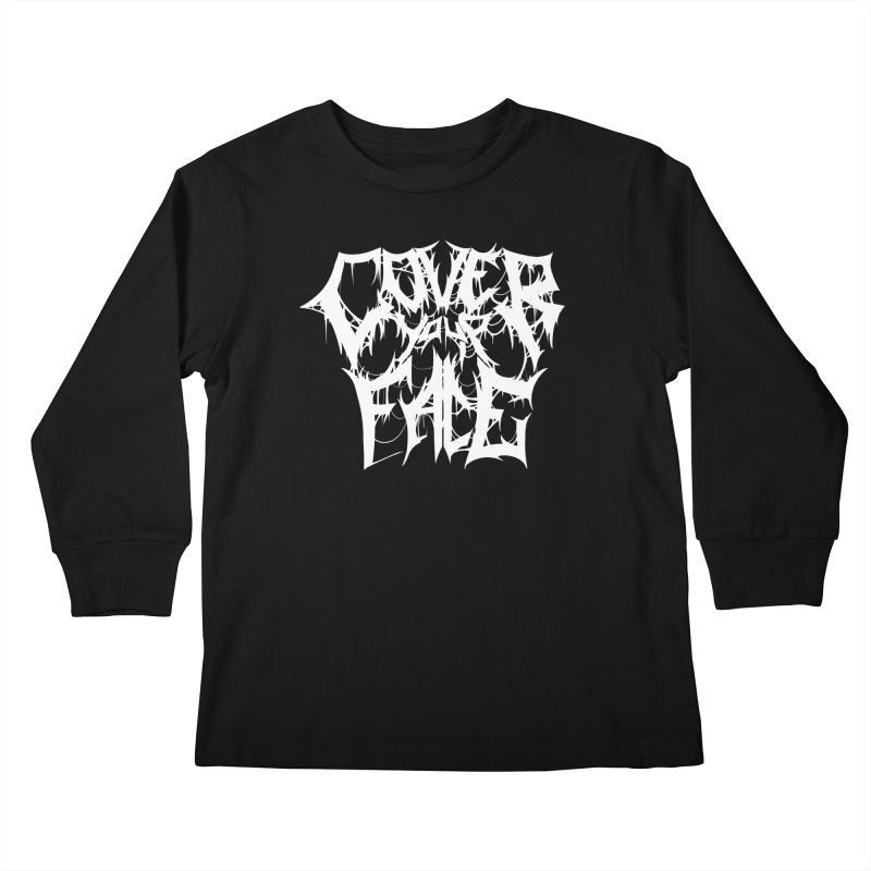 Cover Your Face Kids Longsleeve T-Shirt by Doctor Popular's Shop