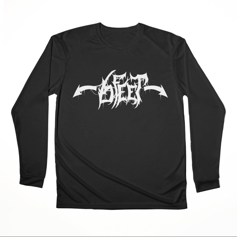 ← 6 FEET → Men's Longsleeve T-Shirt by Doctor Popular's Shop