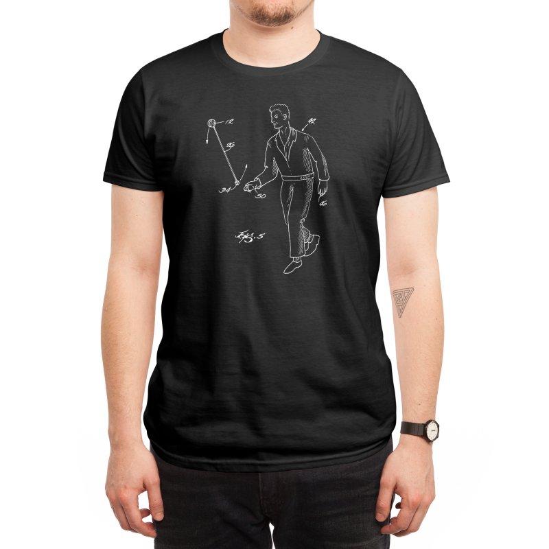 Freehand Yo-Yo Patent Art (aerial) Men's T-Shirt by Doctor Popular's Shop