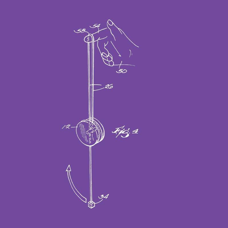 Freehand Yo-Yo Patent Art (yo-yo) Men's T-Shirt by Doctor Popular's Shop
