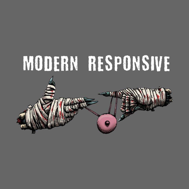Modern Responsive Yo-Yo Women's Scoop Neck by Doctor Popular's Shop
