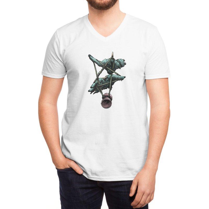 The Most Metal Yo-Yo Shirt Men's V-Neck by Doctor Popular's Shop