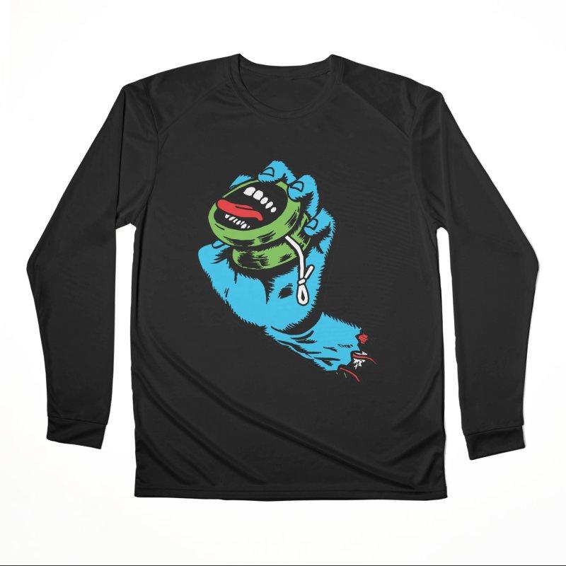 Screaming Yo-Yo Hand Women's Longsleeve T-Shirt by Doctor Popular's Shop