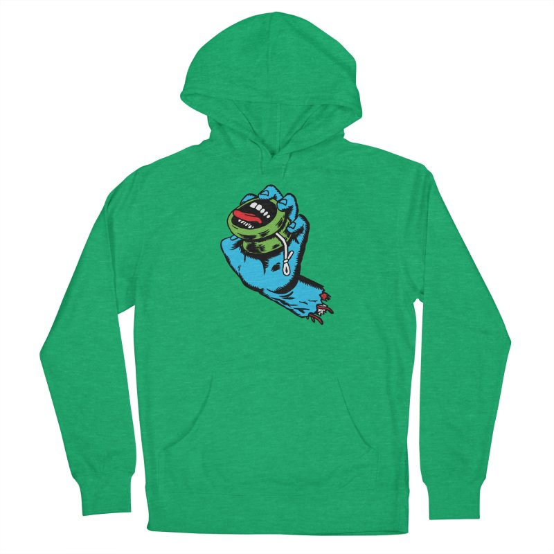 Screaming Yo-Yo Hand Men's Pullover Hoody by Doctor Popular's Shop