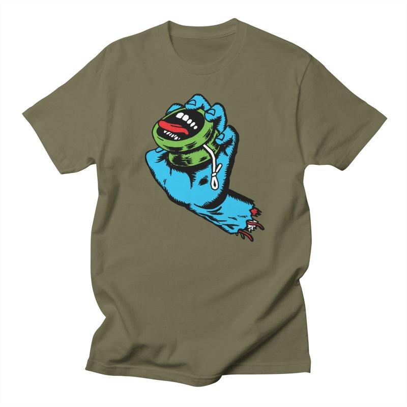 Screaming Yo-Yo Hand Men's T-Shirt by Doctor Popular's Shop
