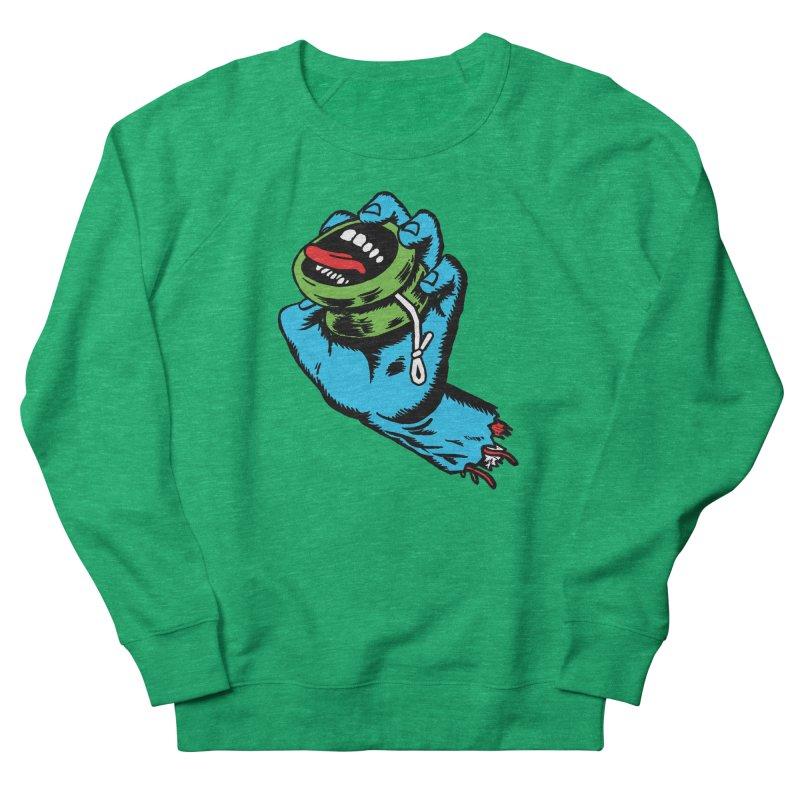 Screaming Yo-Yo Hand Men's Sweatshirt by Doctor Popular's Shop