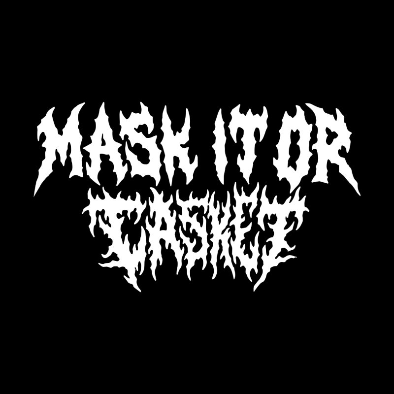 Mask it or CASKET Men's Sweatshirt by Doctor Popular's Shop