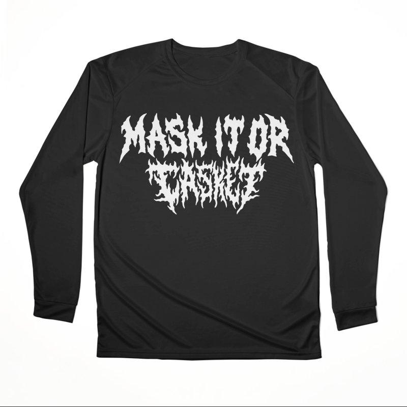 Mask it or CASKET Women's Longsleeve T-Shirt by Doctor Popular's Shop
