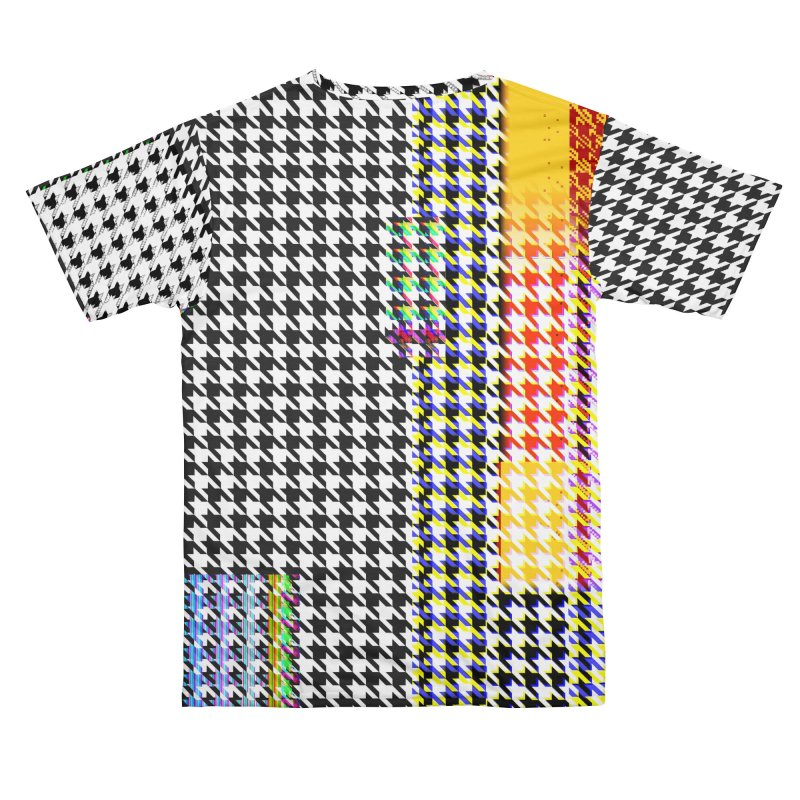 Houndstoof: Glitched-out pattern Men's Cut & Sew by Doctor Popular's Shop