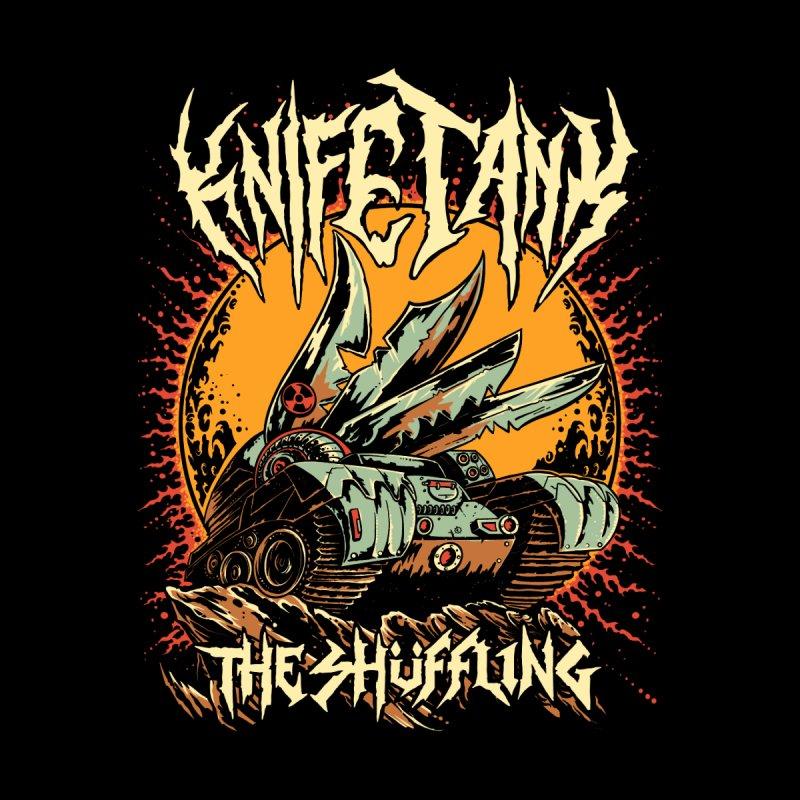 KnifeTank: The Shüffling Women's Longsleeve T-Shirt by Doctor Popular's Shop