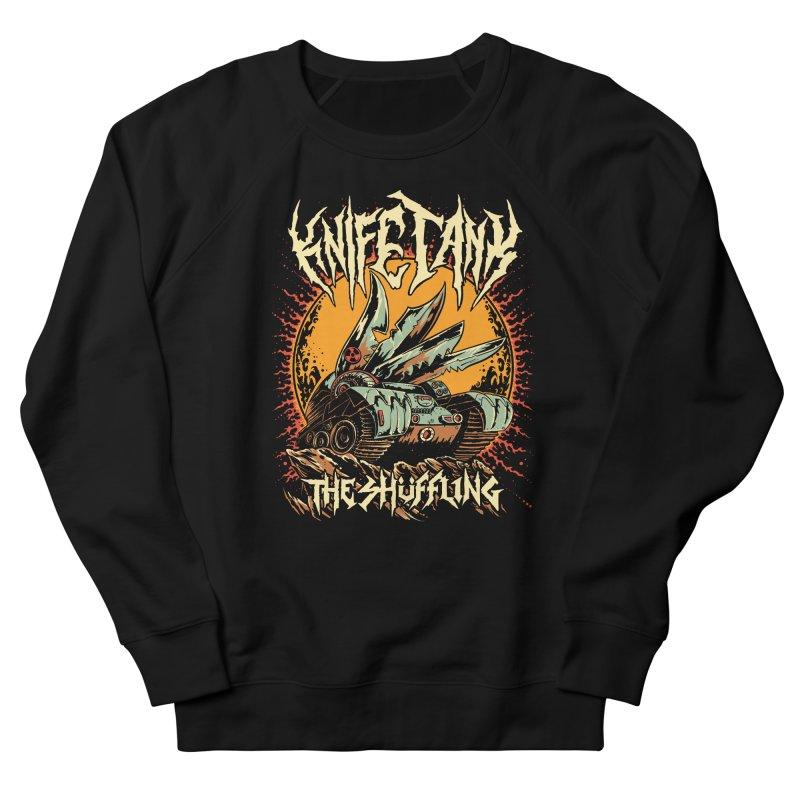 KnifeTank: The Shüffling Men's Sweatshirt by Doctor Popular's Shop