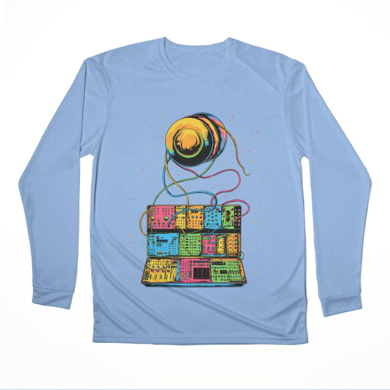 Modular Yo-Yos Women's Longsleeve T-Shirt by Doctor Popular's Shop